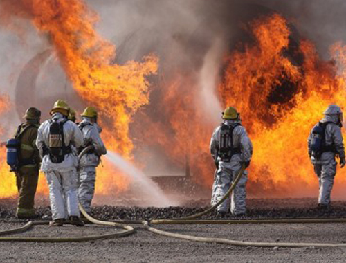 火灾现场的烧伤急救
